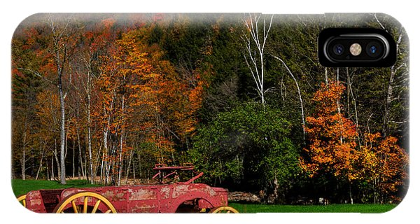 Vermont Wagon IPhone Case