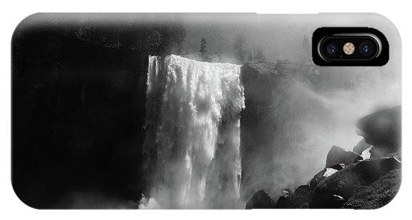 Waterfall iPhone Case - Vernal Fall by Raymond Salani Iii