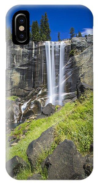 Vernal Falls In July At Yosemite IPhone Case