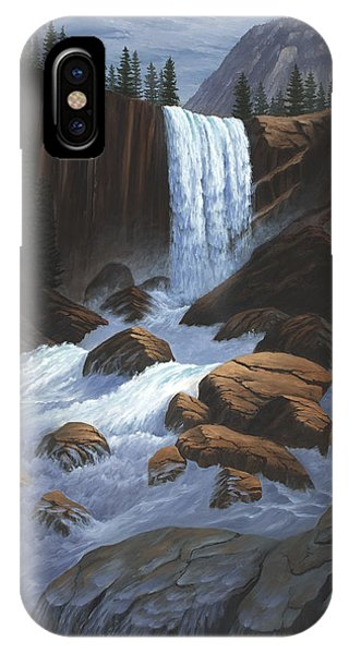 Vernal Falls Yosemite  IPhone Case