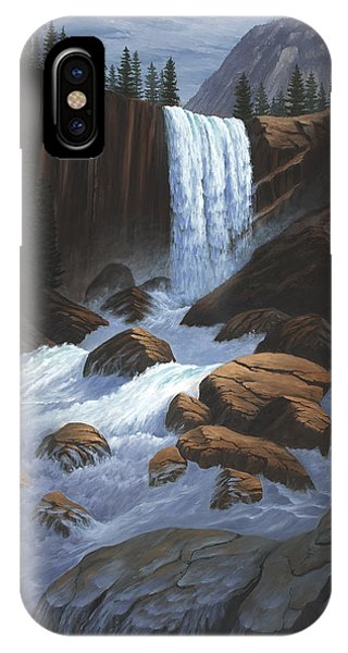 Vernal Falls Yosemite  IPhone Case