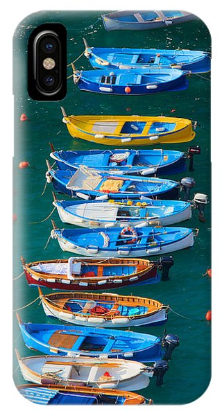Moor iPhone Case - Vernazza Armada by Inge Johnsson