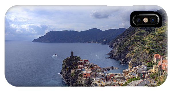 Vernazza By The Sea IPhone Case