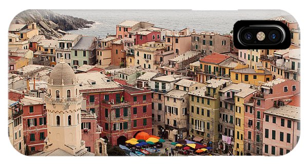 Vernazza Italy IPhone Case
