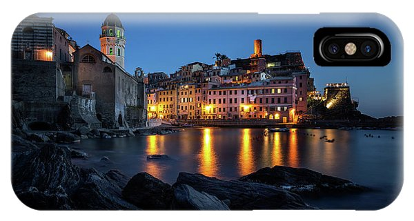 Night iPhone Case - Vernazza by Sus Bogaerts