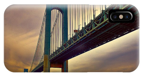 The Verrazano - Narrows Bridge IPhone Case