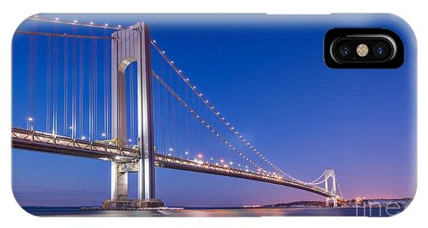 Verrazano Bridge Before Sunrise  IPhone Case