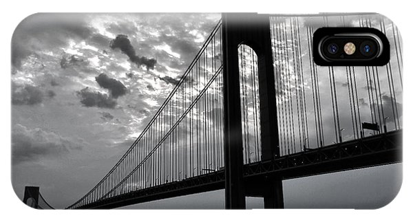 Verrazano Sky Bw IPhone Case