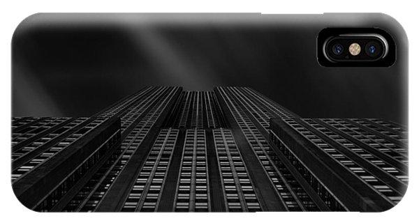 Vertical Scale IPhone Case