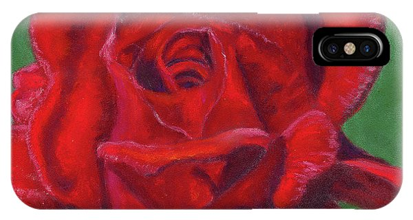 Very Red Rose IPhone Case