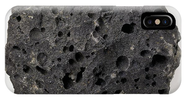 Basalt iPhone Case - Vesicular Basalt by Dorling Kindersley/uig
