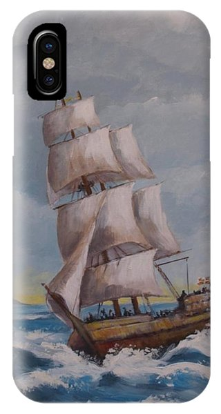 Vessel In The Sea IPhone Case