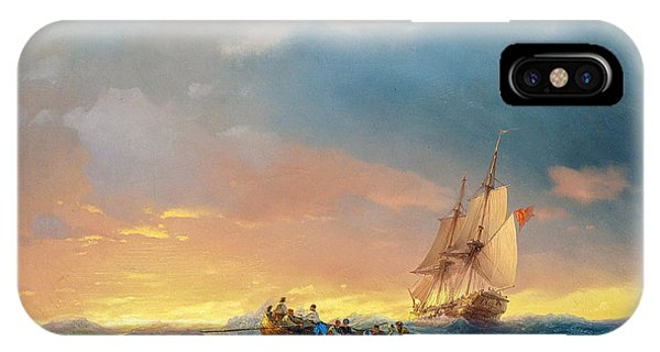 iPhone Case - Vessels In A Swell At Sunset  by Viktor Birkus