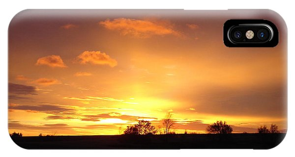 Veteran's Day Sunset 2013 IPhone Case