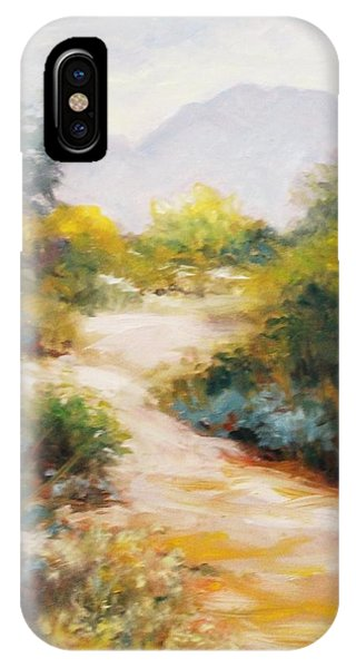 Veterans Park Pathway IPhone Case