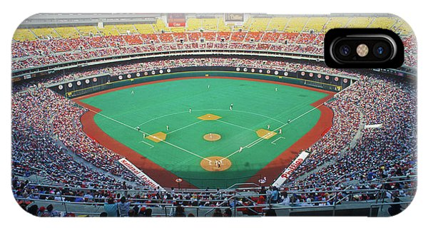 Astro iPhone Case - Veterans Stadium During Major League by Panoramic Images