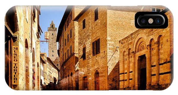 Via San Giovanni IPhone Case