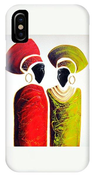 Vibrant Zulu Ladies - Original Artwork IPhone Case