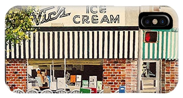 iPhone Case - Vic's Ice Cream by Paul Guyer