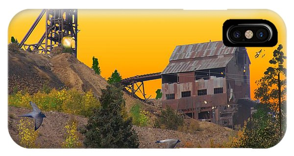 Victor Colorado Gold Mine IPhone Case