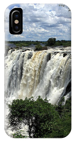 Victoria Falls On The Zambezi River IPhone Case