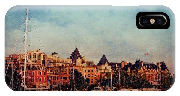 Victoria Historic Buildings  IPhone Case