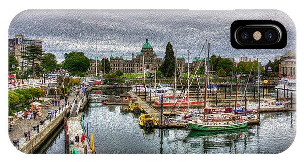 Victoria Inner Harbour IPhone Case