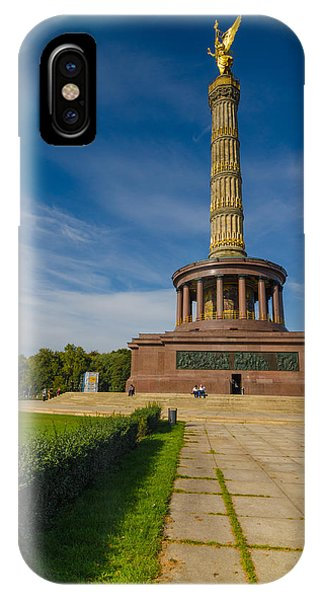 Victory Column IPhone Case