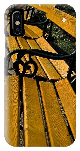 Vienna Benches Phone Case by Gabor Fichtacher