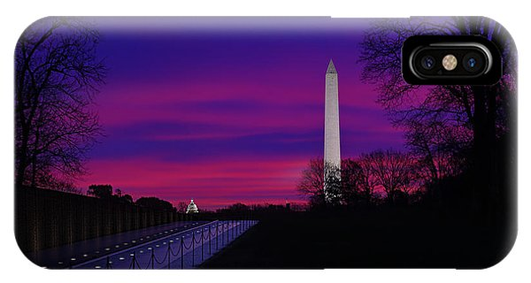 Vietnam Memorial Sunrise IPhone Case