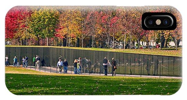 Vietnam Memorial Wall IPhone Case