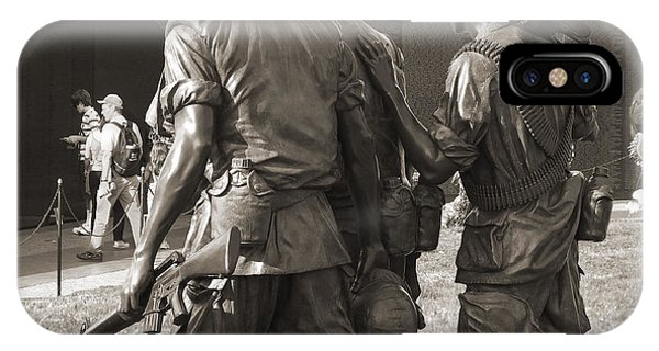 Vietnam Veterans Memorial 2 - Washington Dc IPhone Case