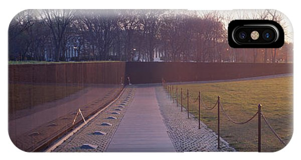 Maya iPhone Case - Vietnam Veterans Memorial At Sunrise by Panoramic Images