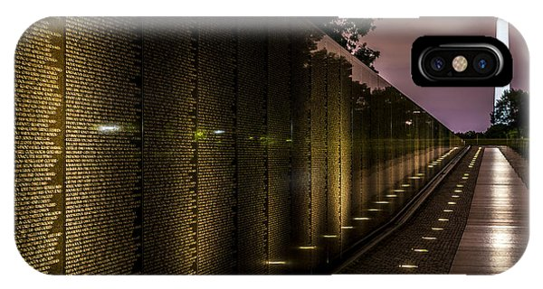 Vietnam Veterans Memorial IPhone Case