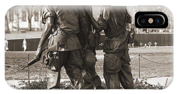 Vietnam Veterans Memorial - Washington Dc IPhone Case