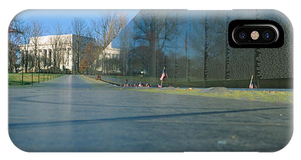 Maya iPhone Case - Vietnam Veterans Memorial, Washington Dc by Panoramic Images