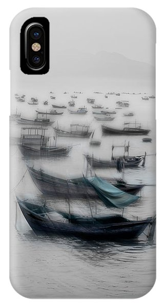 Boat iPhone Case - Vietnamese Boats by Svetlin Yosifov
