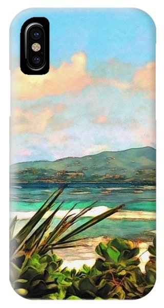 View Across Salt River - Vertical IPhone Case