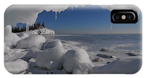 View From An Ice Cave IPhone Case