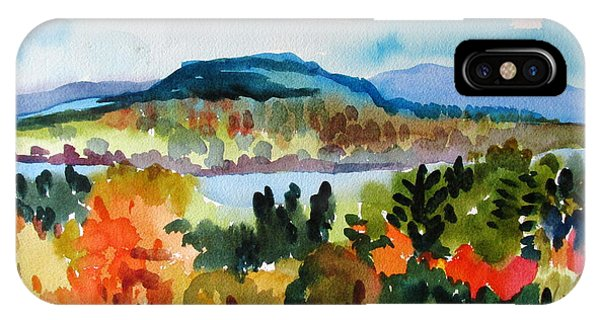 View From Kripalu In Fall IPhone Case