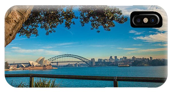 View From Lady Macquarie's Chair Phone Case by Dasmin Niriella
