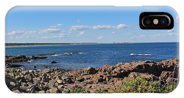 View From Marginal Way Ogunquit Maine 3 IPhone Case