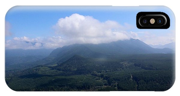 View From Rattlesnake Ridge Washington  IPhone Case