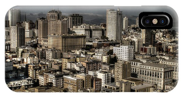 View From The 31st. Floor Phone Case by Sylvia Blaauw