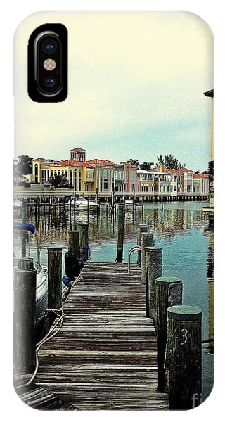 View From The Boardwalk 2 IPhone Case