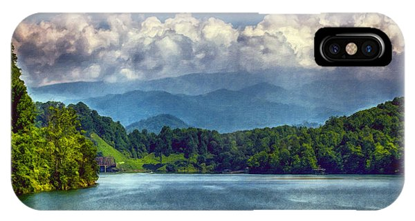 View From The Great Smoky Mountains Railroad IPhone Case