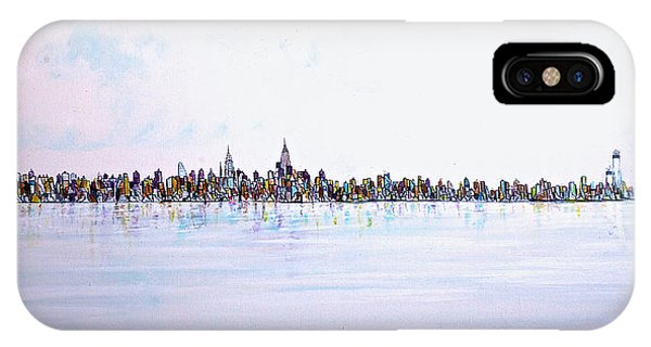 View From The Hudson IPhone Case