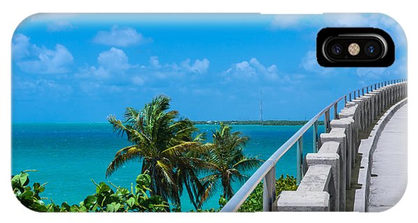 View From The Old Bahia Honda Bridge IPhone Case