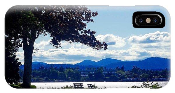 View In Victoria B C Canada IPhone Case