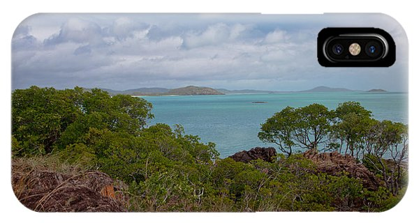 Far North Queensland iPhone Case - View Into The Gulf by Carole Hinding